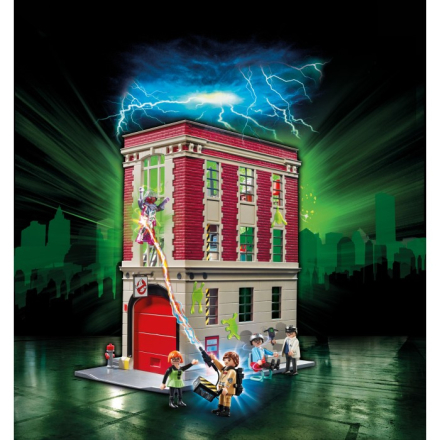 Playmobil Ghostbusters - Firehouse 9219
