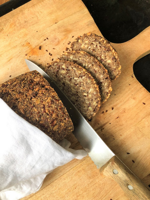 Low Carb Brot (glutenfrei)