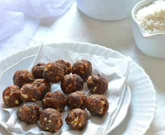Sugar free Dates and Nuts Ladoo