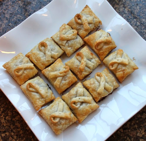Puff Pastry Ravioli Mince Pies #SundaySupper