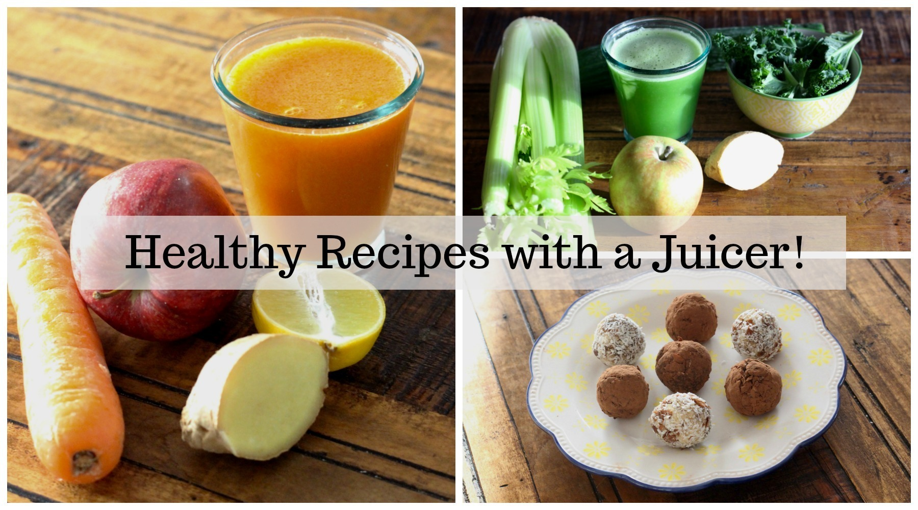 Golden Carrot & Classic Green Juice Recipes