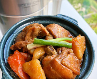 Chicken Stew With Carrot & Potato 马铃薯胡萝卜鸡煲