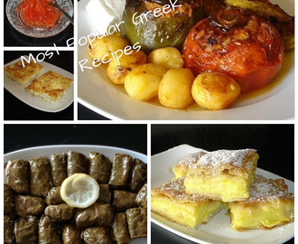 5 Most Popular Greek Recipes November 2017