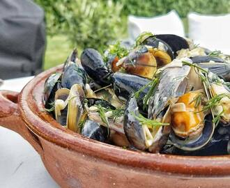 Moule Mariniéres med chili