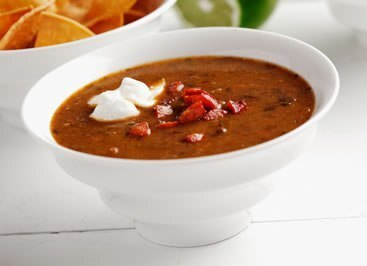 Soup Special of the Day……..Black Bean and Chorizo Soup