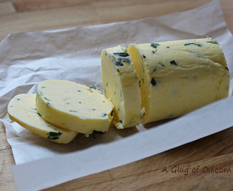 Lemon and Thyme Homemade Butter - How to Make