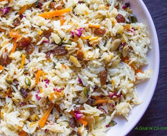 Persian-style Jewelled Rice - Multi Cooker Recipe