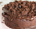 Chocolate Cake ♦ Vegan, For Two (Small)