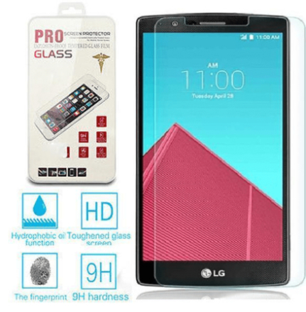 Lg g4 tempered glass skärmskydd (0,26mm) med komplett sats
