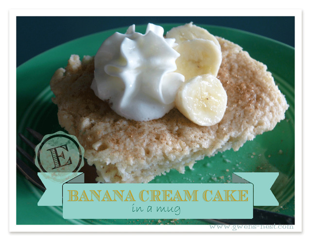 Banana Cream Cake Recipe {Sugar free & Gluten Free}