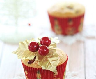 Cranberry Butter Cupcakes 蔓越莓牛油杯子蛋糕