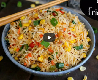 Corn Fried Rice Recipe Video
