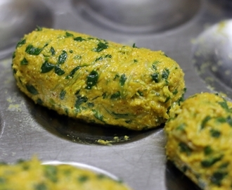 Methi muthiya recipe, how to make Gujarati muthia recipe