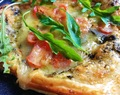 Recipe: Tomato, Cheese and Rocket Puff Pizza