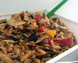 Quick and Easy Two-Pot Vegan Orzo