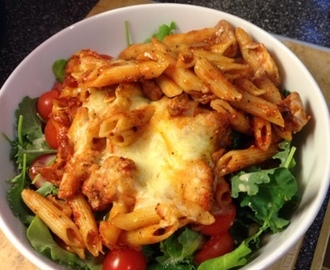 Italian chicken pasta bake (slimming world friendly)
