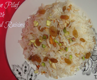 Armenian Rice Pilaf with Raisins and Nuts   #Armenian