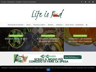 www.lifeisfood.it