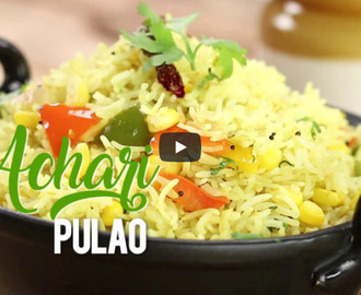 Achari Pulao Recipe Video