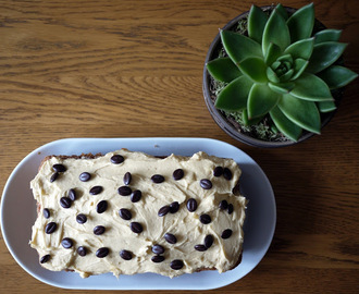 Marbled Coffee Loaf Cake