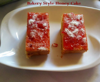 Honey Cake Recipe (Indian Bakery Style)