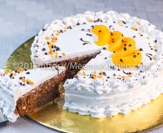 Chocolate Orange Cake/ Orange Chocolate Delight - MeemisKitchen