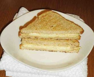 Cheese sandwich recipe - Mozzarella cheese sandwich
