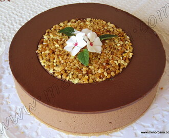 Tarta mousse de chocolate