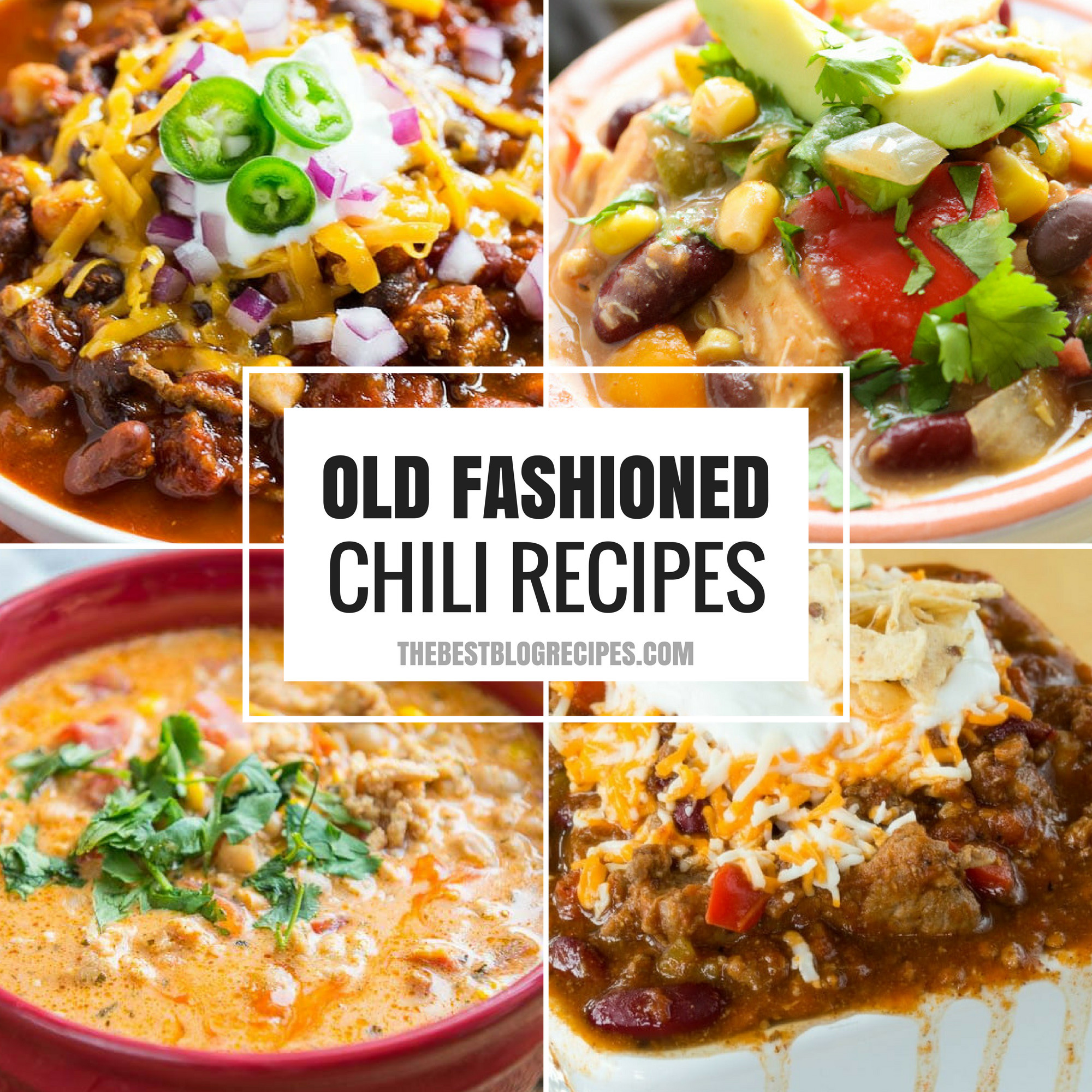 Old Fashioned Chili Recipes just like your grandma made