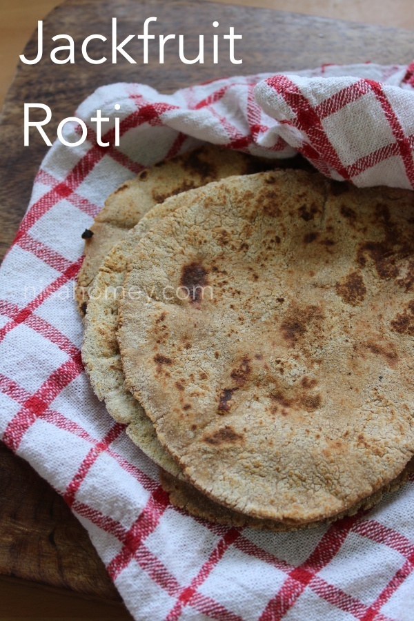 Jackfruit Roti Recipe - How To Make Jackfruit Roti - Diabetic Roti