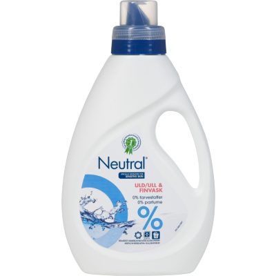 Neutral Flytande Ull & Fintvätt 750 ml