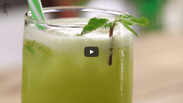 Pineapple Apple and Sweet Lime Juice Recipe Video