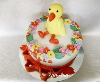 Kiskacsás torta /Little duck cake