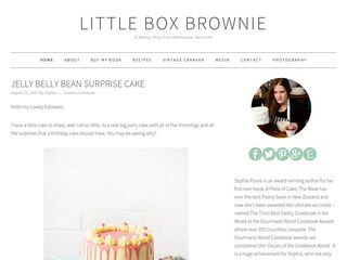Little Box Brownie – A baking blog from Melbourne Australia