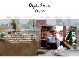 Oops, I'm a Vegan - Blog
