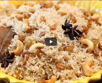 Ghee Rice Recipe Video