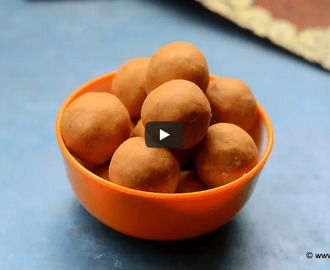 Sattu Laddu Recipe Video