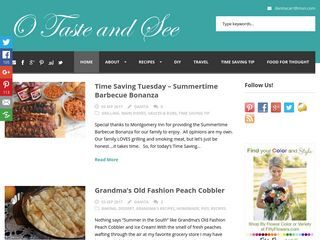 O Taste and See | Food, Fun, Faith and Family