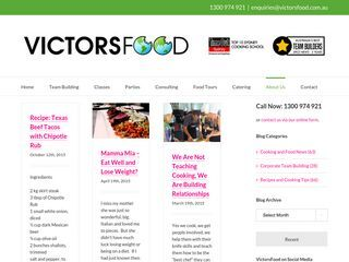 VictorsFood Blog | Keep up to date with all the latest food trends