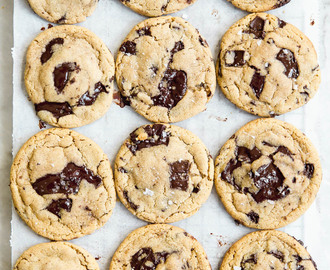 The Best Tahini Chocolate Chip Cookies In The World