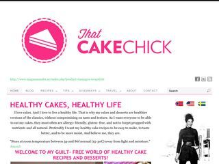That Cake Chick | Healthy. Delicous. No Frills. Baking.