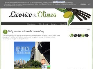 Licorice and Olives