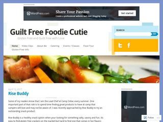 Guilt Free Foodie Cutie | Gluten Free and Guilt Free with Love