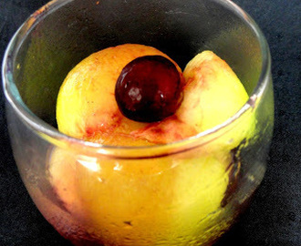 Melon Cocktail with Jamun Syrup