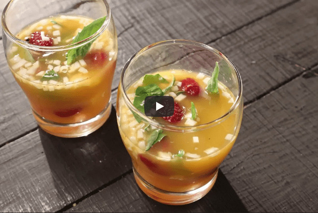 Orange Coconut Cooler Recipe Video