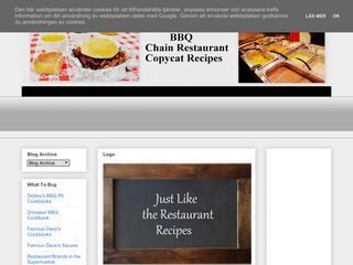 BBQ Chain Restaurant Recipes