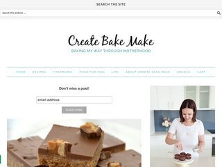 createbakemake – Motherhood, Life & Baking