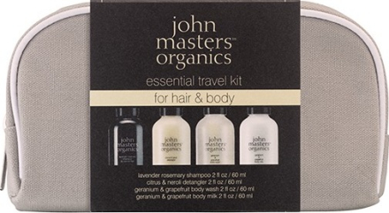 John Masters Essential Travel Kit For Hair And Body