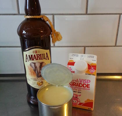 Glass med Amarula Cream