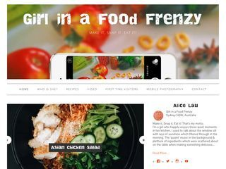 girl in a food frenzy | Make it, Snap it, Eat it!